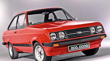 Ford Escort MK2 01/1975- 08/1980
