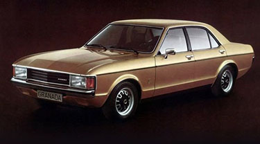 Ford Granada MK1 02/1972- 08/1977