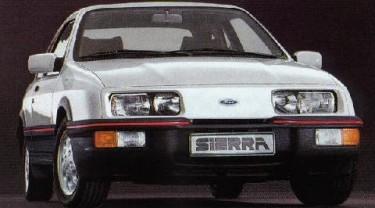 Ford Sierra MK1 08/1982-12/1986