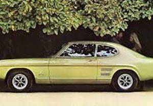 Ford Capri MK1 11/1968-12/1973