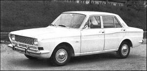 Ford Taunus P6 09/1966-05/1970