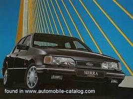 Ford Sierra MK2 01/1987-02/1993