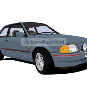 ford escort mk4 01/1986-07/1990