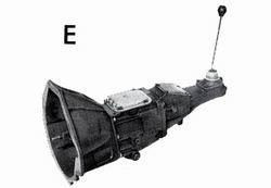 boite type E , 4 vitesses (V6 2.8/ V6 3.0)